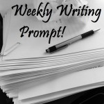 Weekly Writing Prompt Image