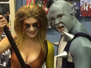 Panthro and Cheetara at Monster Carnival 2017. Thundercats Ho!