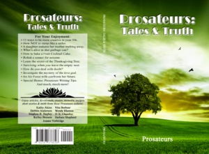 Book cover features a green field with a tree and birds.