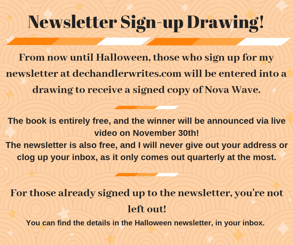 Newsletter Drawings!